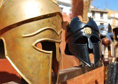 Paso Viviente, Cascos Gladiadores