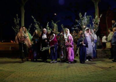 Paso Viviente, entrada de Jesús en Jerusalén